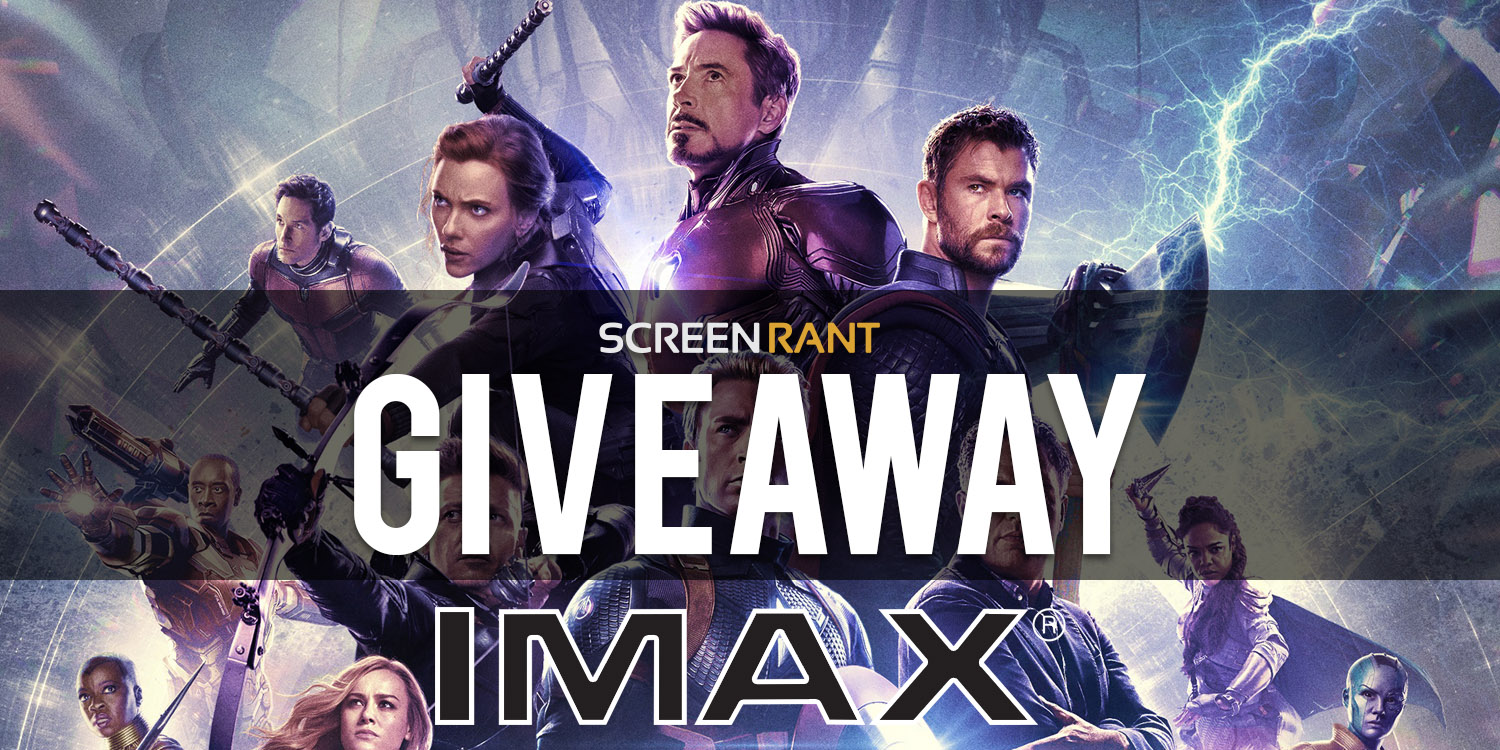 Avengers: Endgame IMAX Tickets Giveaway Giveaway Image