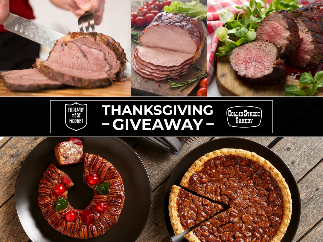 🍗 🍰 Thanksgiving Giveaway 🍰🍗