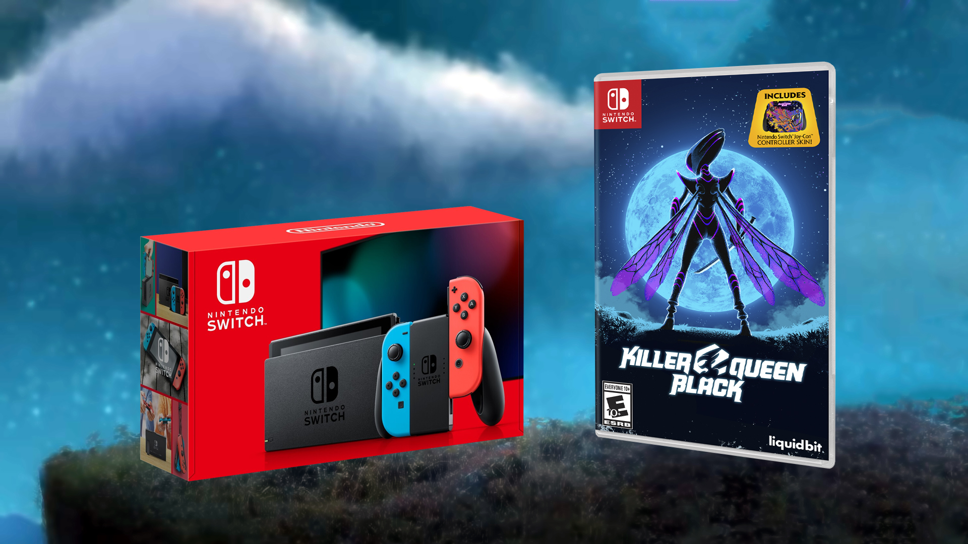 Contest: Win A Brand New Switch, Courtesy Of Killer Queen Black