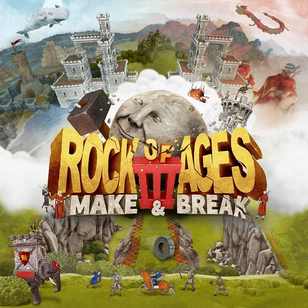 Enter to win a Switch or PC Steam copy of Rock of Ages 3 Giveaway Image