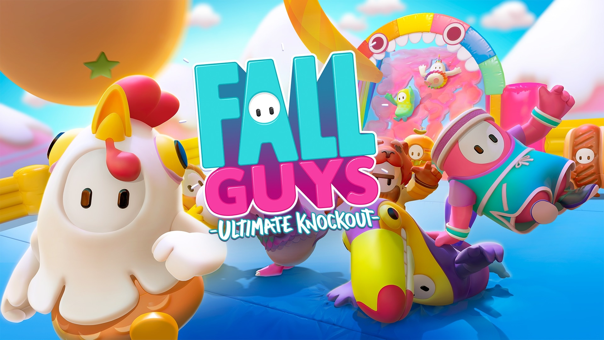 Enter to win a PC Steam copy of Fall Guys: Ultimate Knockout. Retails at $20. Giveaway Image