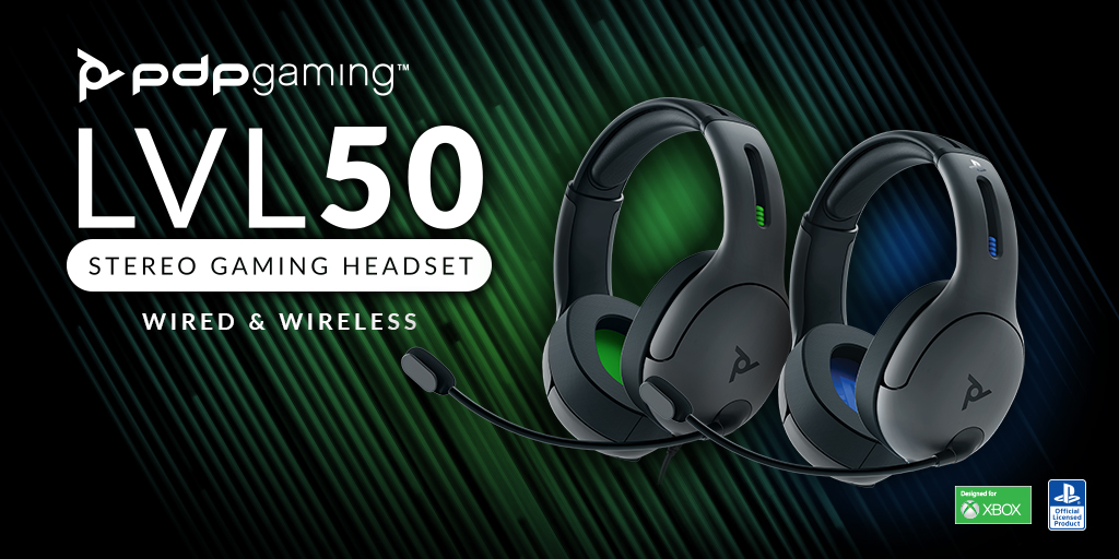 Win a PDP LVL50 Gaming Headset for Xbox One or PS4 Giveaway Image