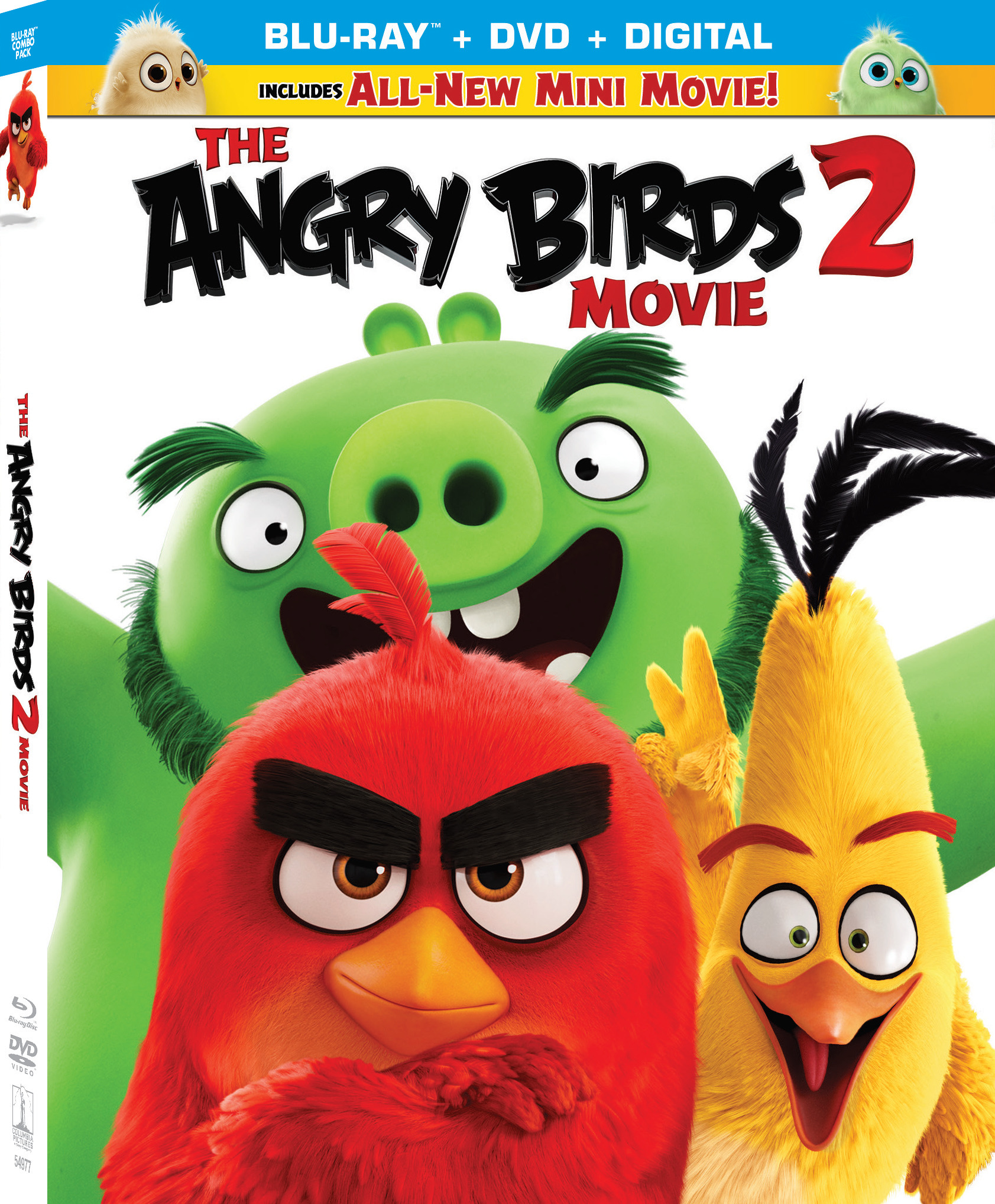Enter to win a Blu-ray copy of The Angry Birds Movie 2 Giveaway Image