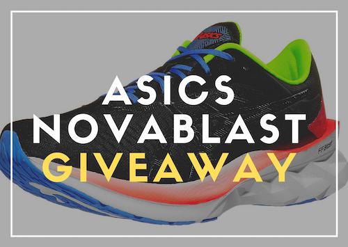 ASICS Novablast Giveaway   confirmed by organizer Giveaway Image