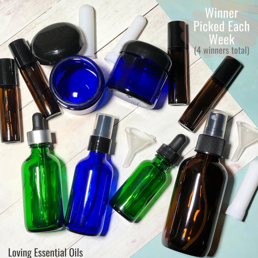 Win One of Four Winter Essentials Oil Supply Bundle from Loving Essential Oils! - Giveaway Image