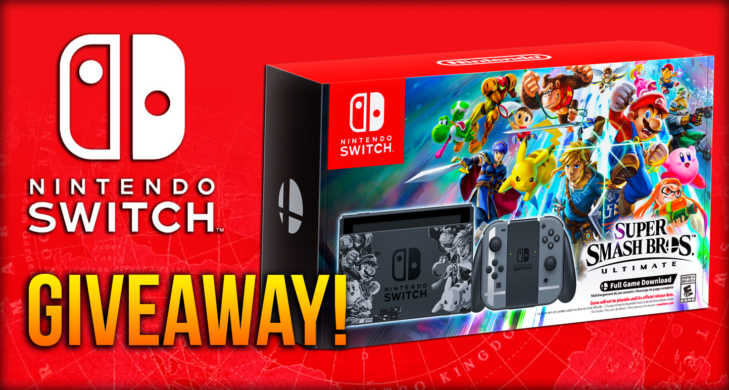 [Gehab] Super Smash Bros Ultimate + Nintendo Switch Bundle Giveaway!