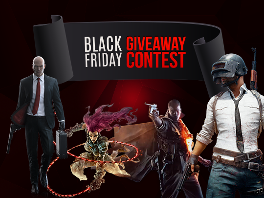 Kinguin Black Friday Giveaway - win games of your choice