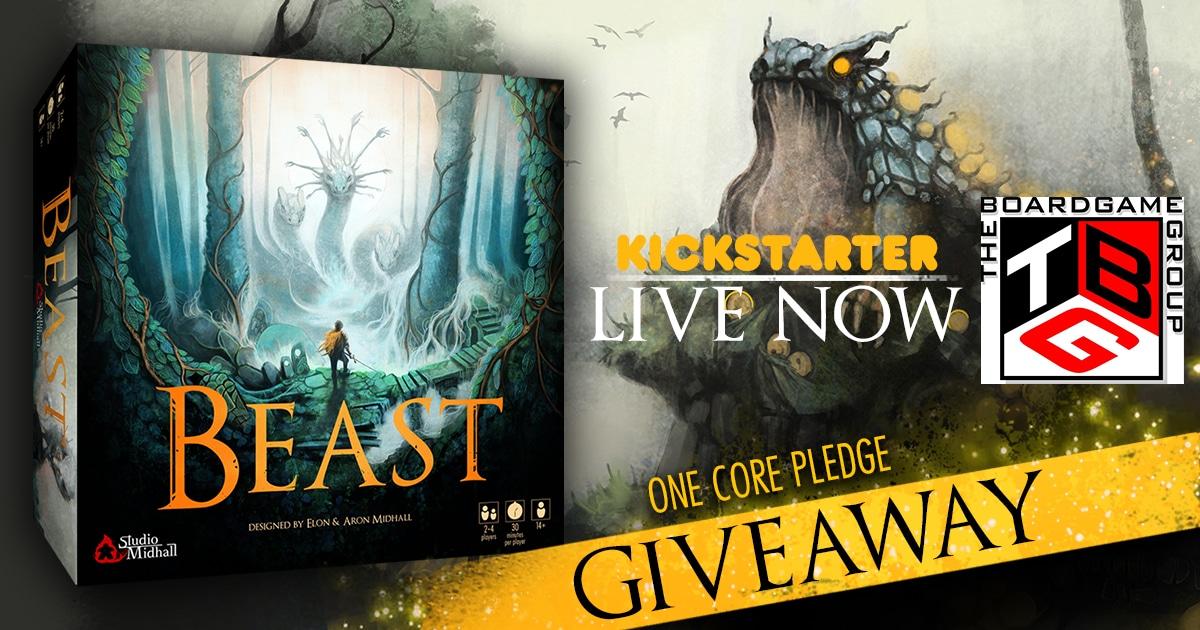"Win ""Beast"" Fantasy Hunting Board Game Giveaway Image"