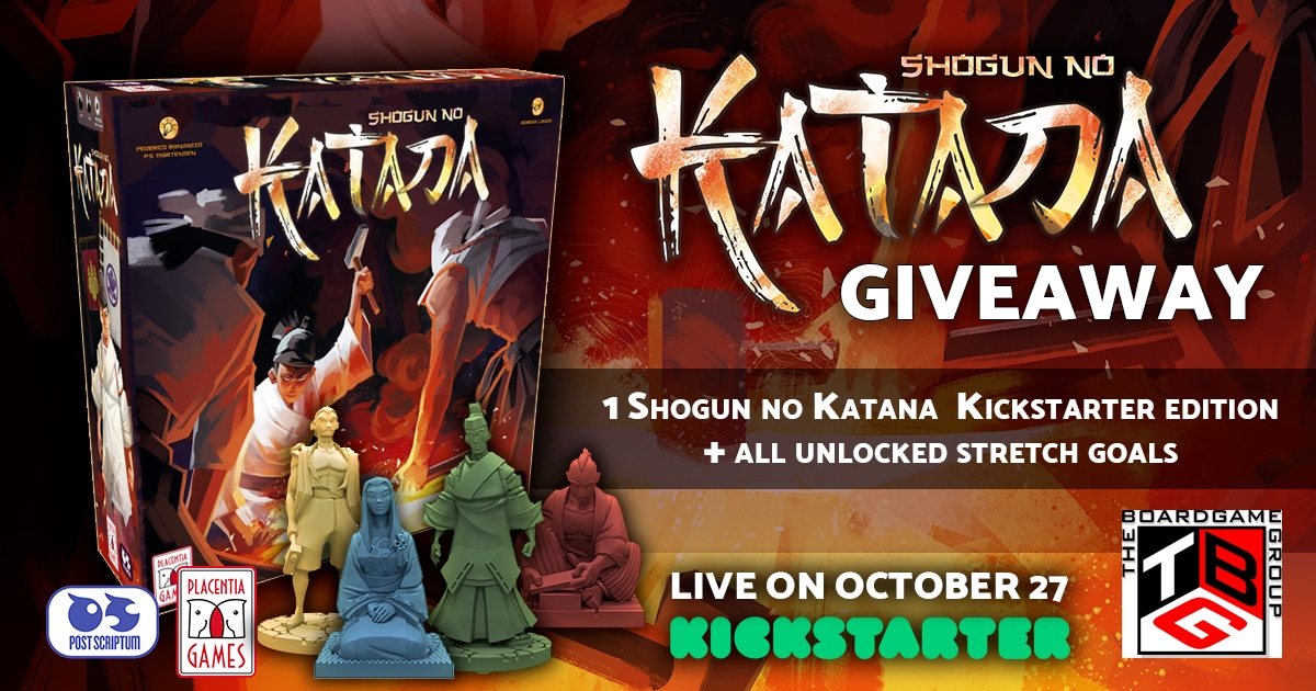 Win the game Shogun no Katana Giveaway Image