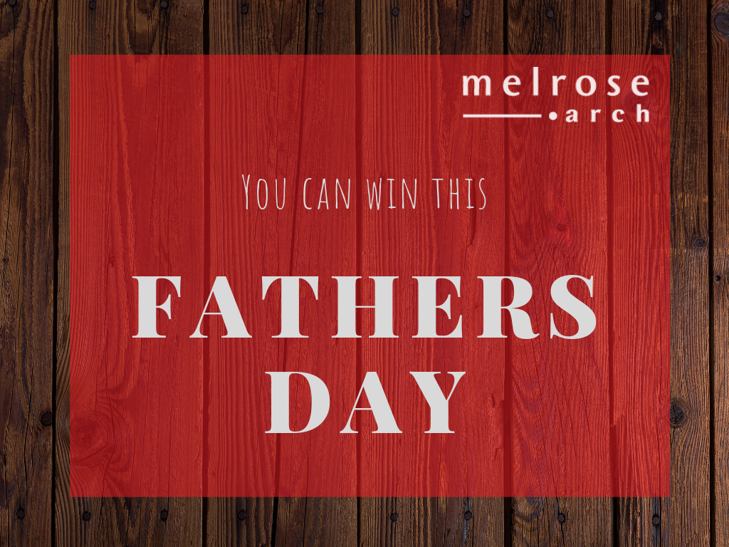 Win a Melrose Arch Father's Day Hamper With Goodies and Vouchers Giveaway Image