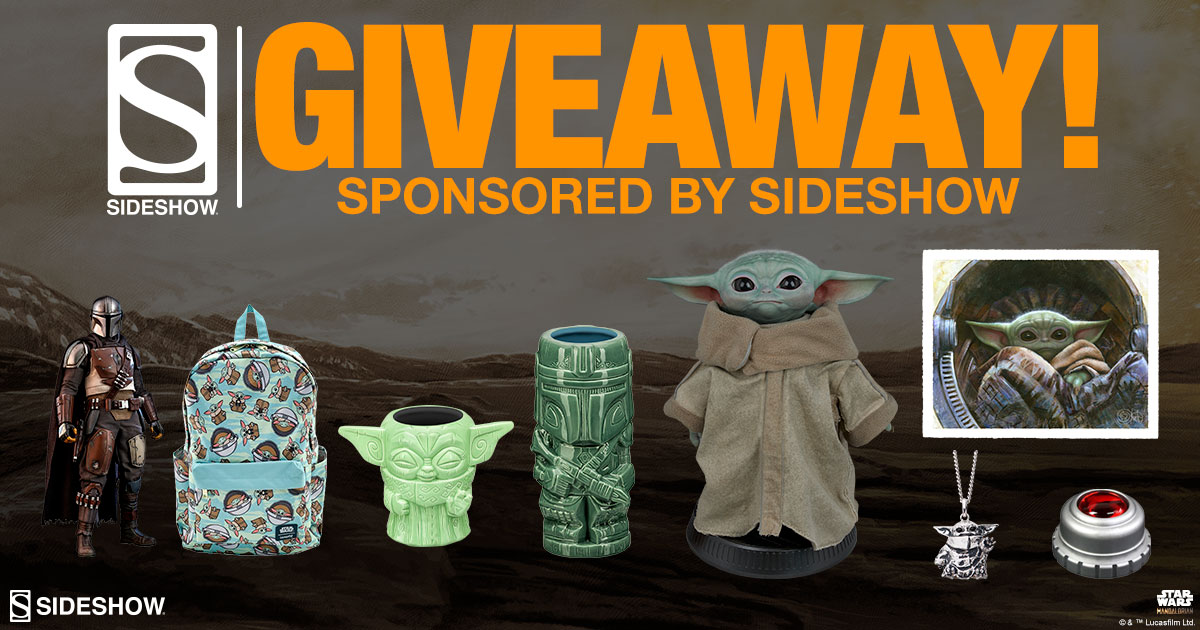 Sideshow Spooktacular 2020: Grand Prize Pack Giveaway including products from the Mandalorian! Giveaway Image