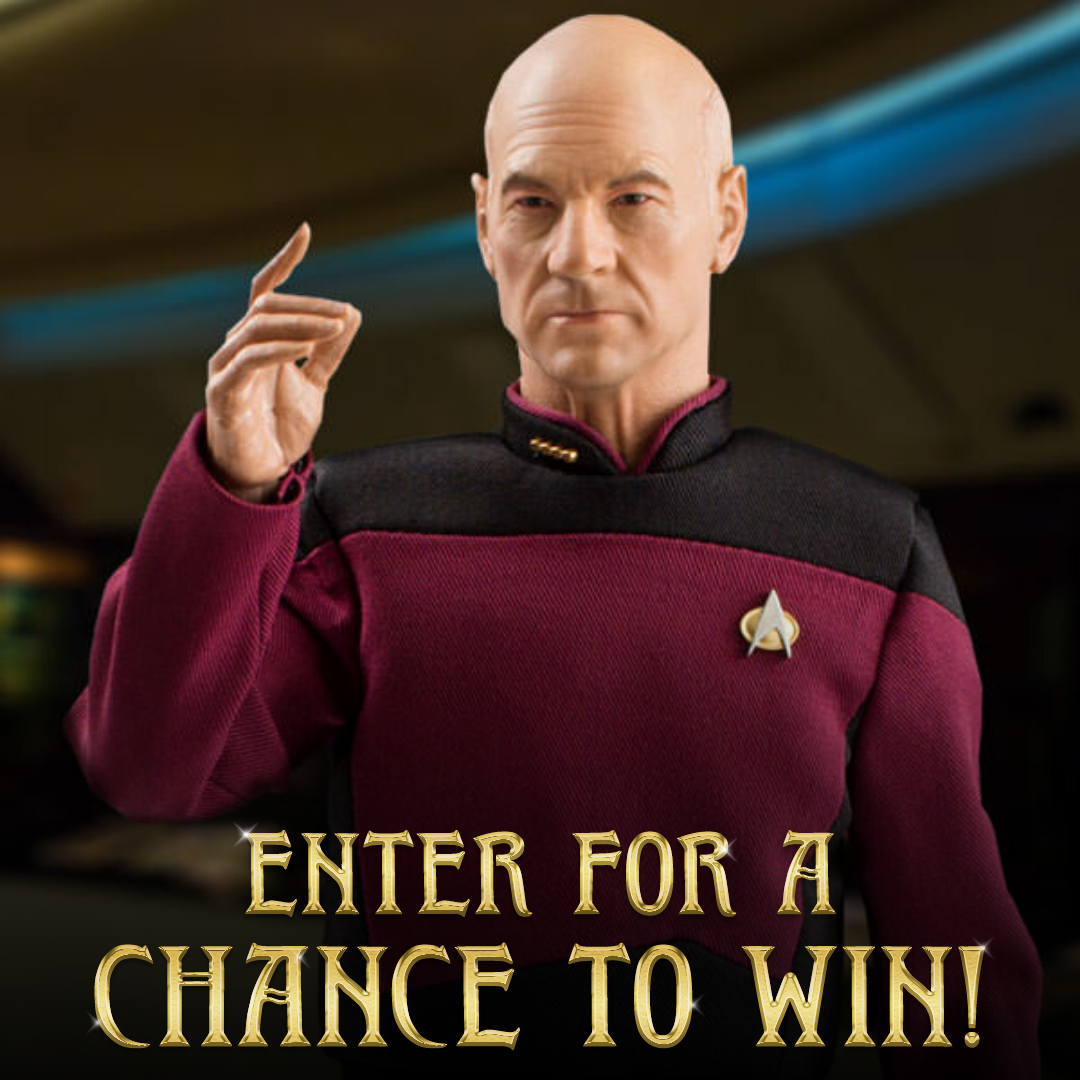 Enter to win the Sixth Scale Master Series Articulated Figure of Captain Jean-Luc Picard from Quantum Mechanix Giveaway Image