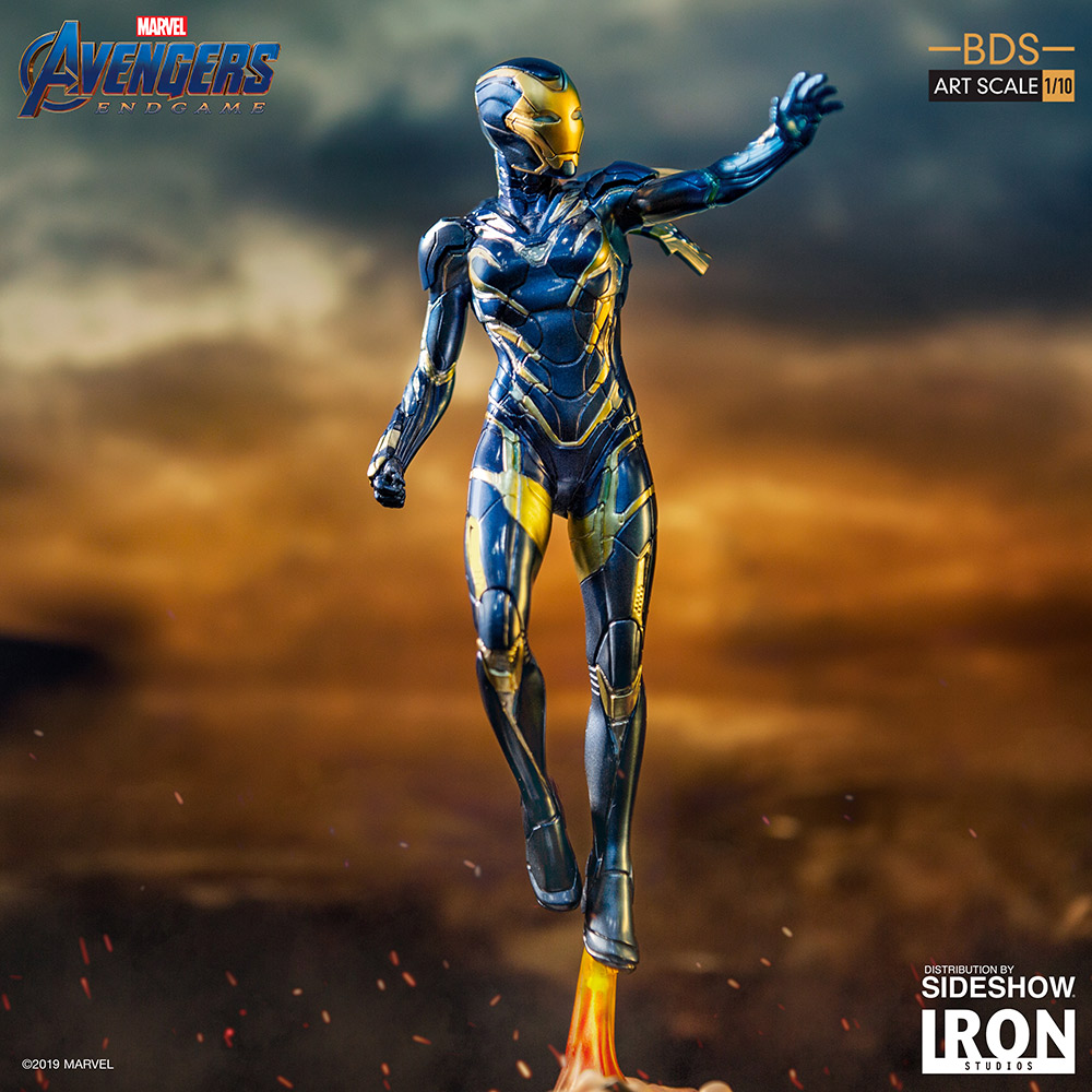 Enter to win the Iron Studios Avengers Endgame BDS Art Scale Statue 1/10 Pepper Potts in Rescue Suit. Retails at $115. Giveaway Image