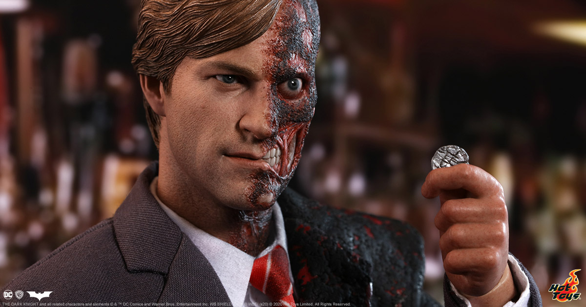 Let Your Geek Sideshow: Two-Face Sixth Scale by Hot Toys! Giveaway Image