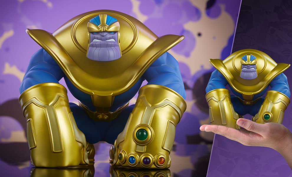 Enter to win the Limited Edition Mad Titan Designer Collectible Toy designed by artist Joe DellaGatta. Courtesy of Sideshow Collectibles. Giveaway Image
