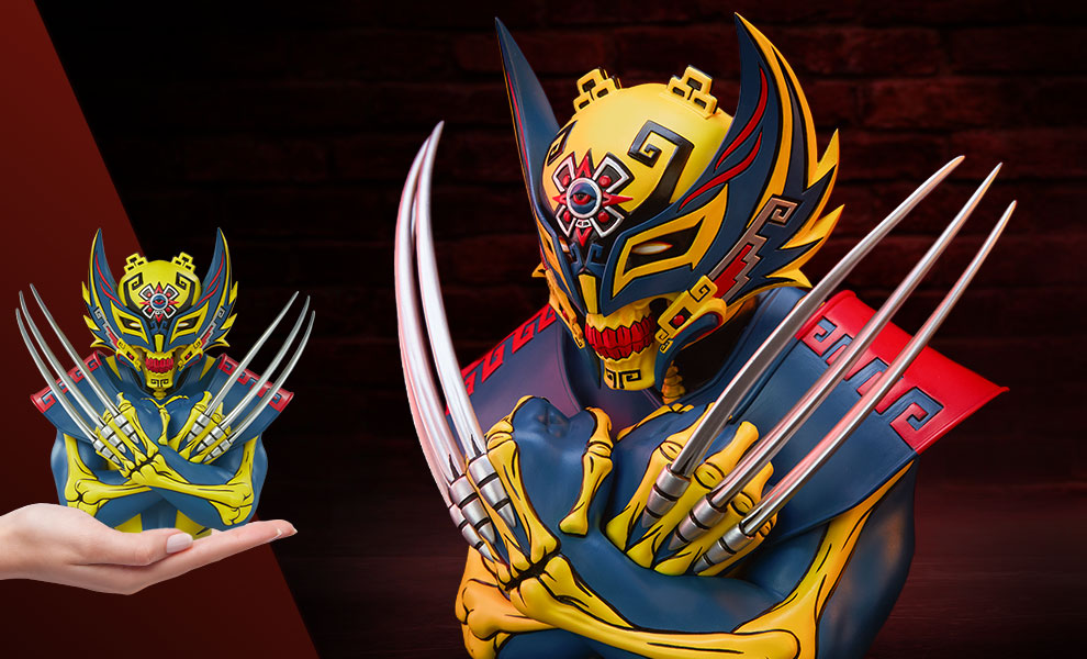 WIN The WOLVERINE DESIGNER COLLECTIBLE STATUE - Aztec-inspired artistry (Valued at 130 US Dollars)  [5/11/2021] Giveaway Image