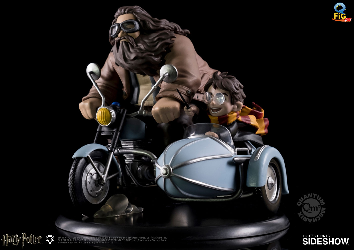 Let Your Geek Sideshow: Win Harry Potter and Rubeus Hagrid Q-Fig Max! Giveaway Image