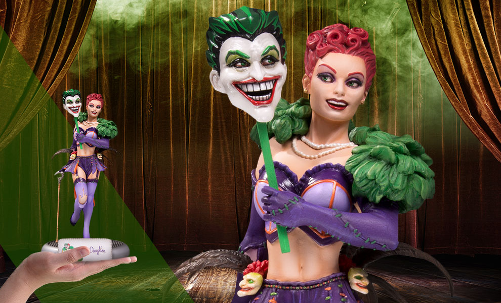 The Joker's Daughter Statue by DC Collectibles Giveaway Image