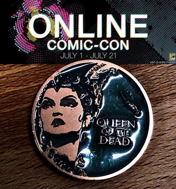 "Online Comic-Con: 1000 Arts RARE Bronze Gethsemoni ""Queen of the Dead"" Coin Giveaway Image"