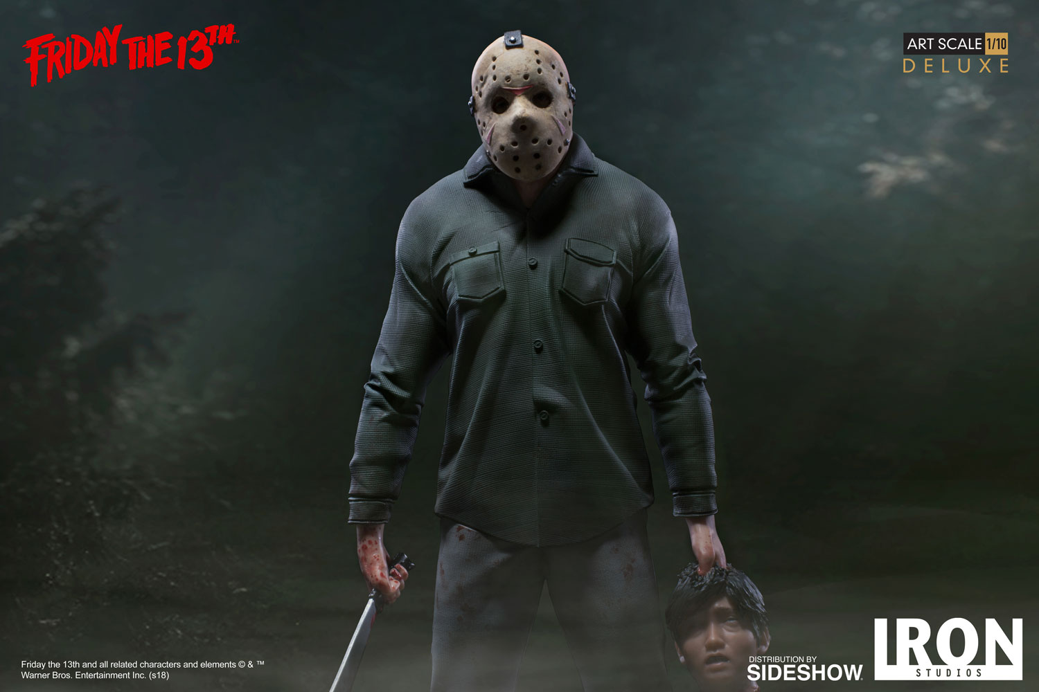 Win a Jason Deluxe 1:10 Scale Statue by Iron Studios Giveaway Image