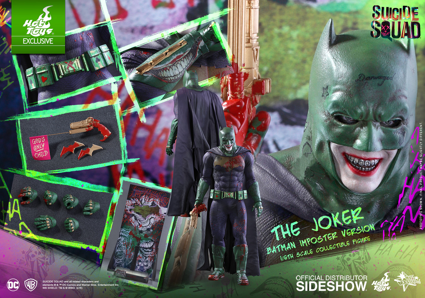 The Joker Batman Imposter Version Sixth Scale Figure by Hot Toys Giveaway Image