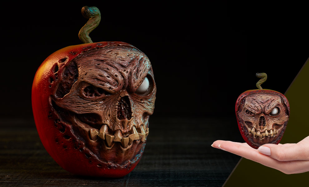 Enter to win the Court of the Dead Skull Apple Rotten Version Prop Replica from Sideshow Collectibles. Giveaway Image