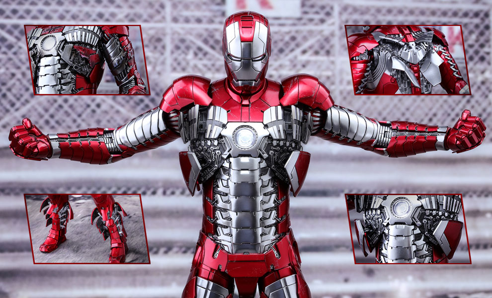 Iron Man Mark V Sixth Scale Figure by Hot Toys Giveaway Image