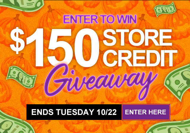 Enter for a chance to win $150 in Store Credit to Wholesale Halloween Costumes Online Store Giveaway Image