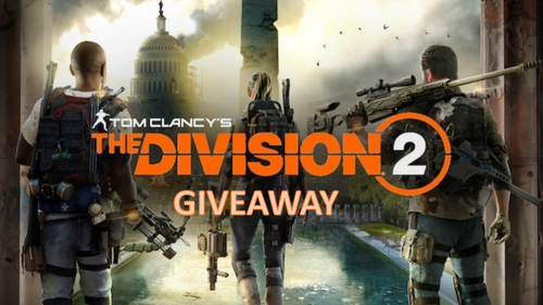 Enter for a chance to win a digital code for Tom Clancy's The Division 2 for a console of your choosing Giveaway Image