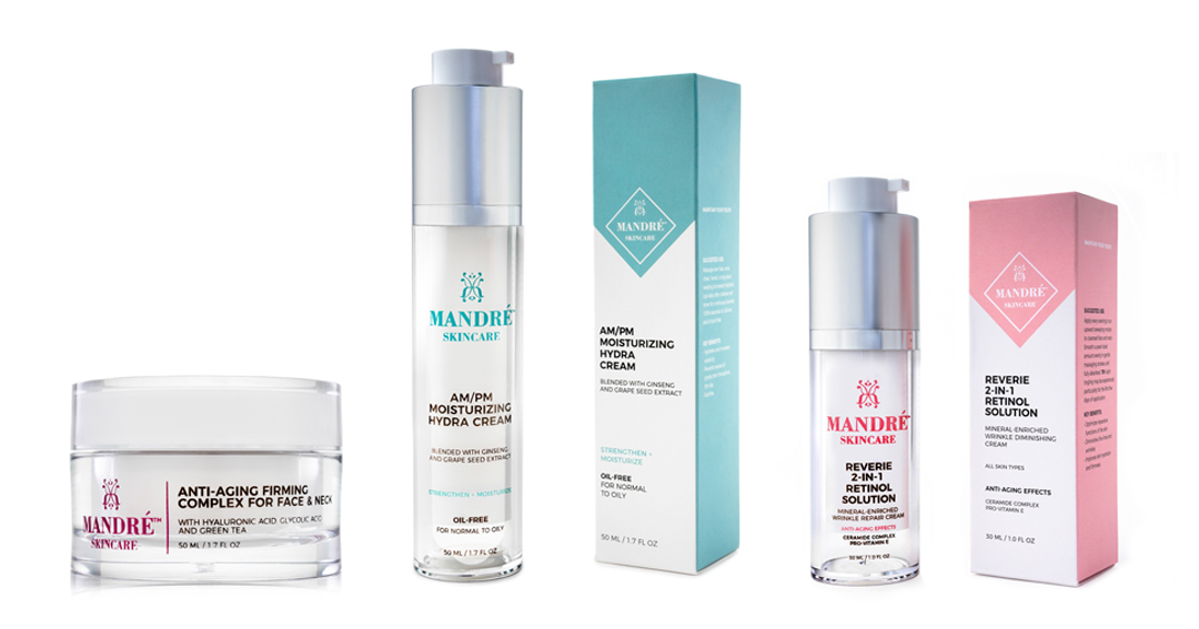 Enter to WIN $150 Worth of FREE Mandre Skincare Products Giveaway Image