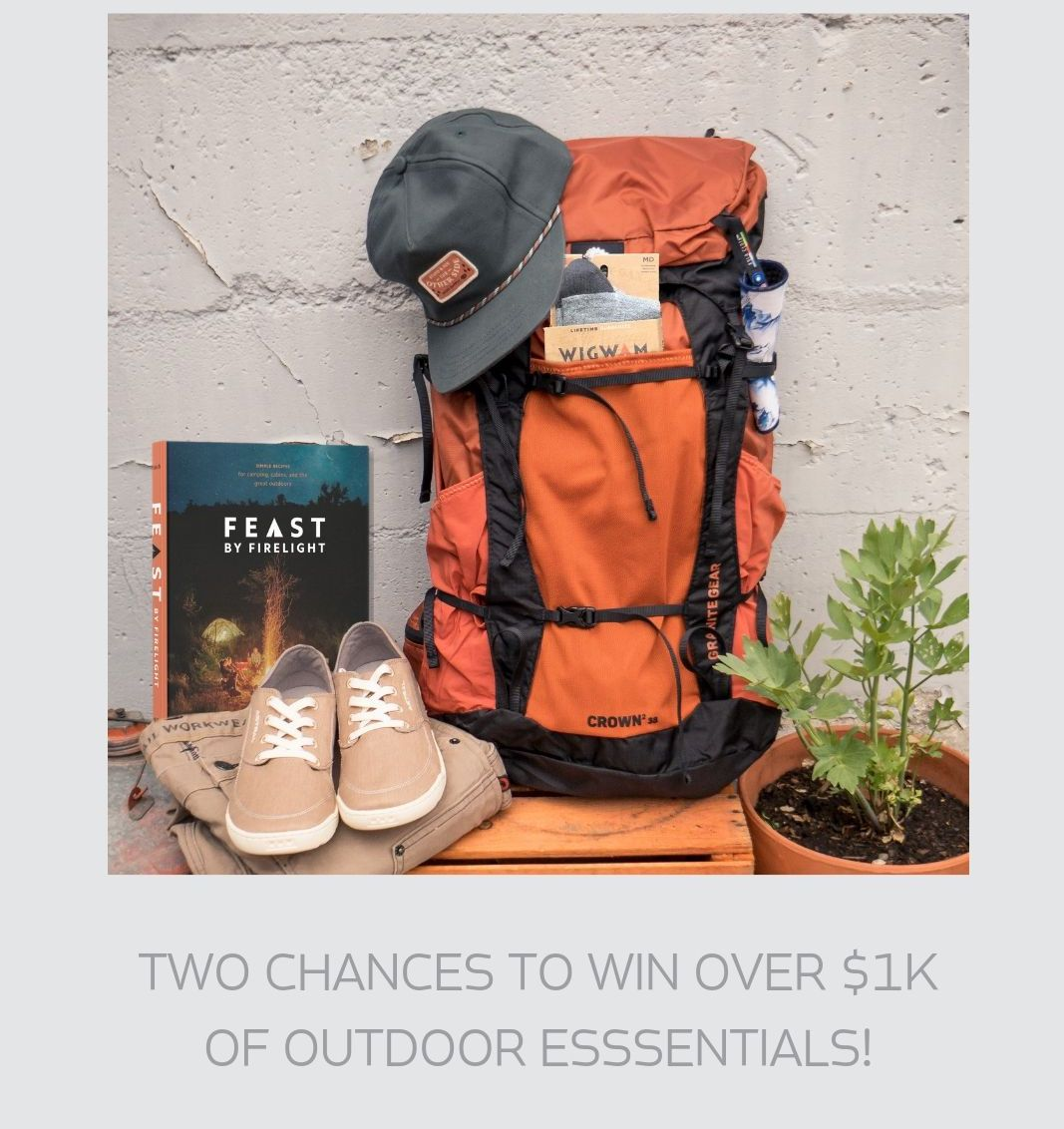 Natural Woman Giveaway - Win over $1,000 of outdoor essentials Giveaway Image