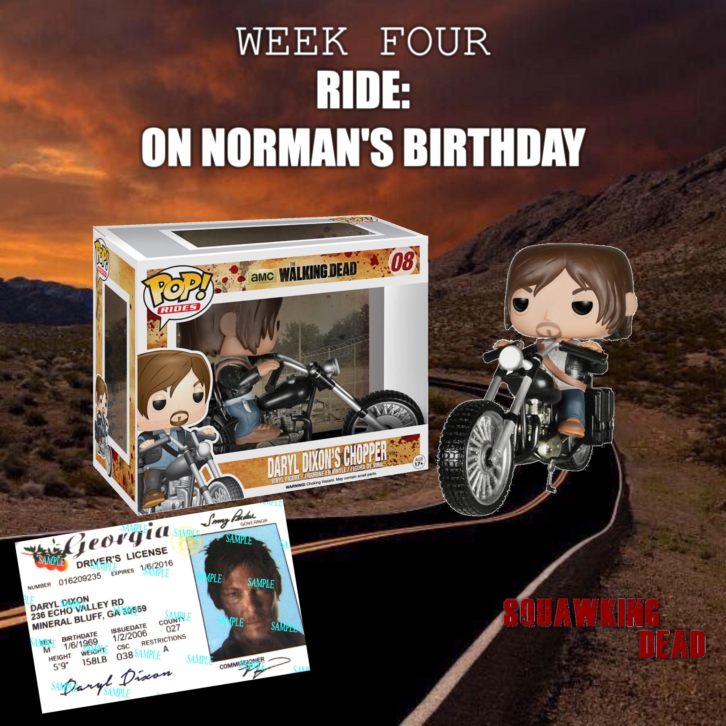 Win a Funko Pop Walking Dead Daryl Dixon's Chopper and copy of Daryl Dixon's license Giveaway Image