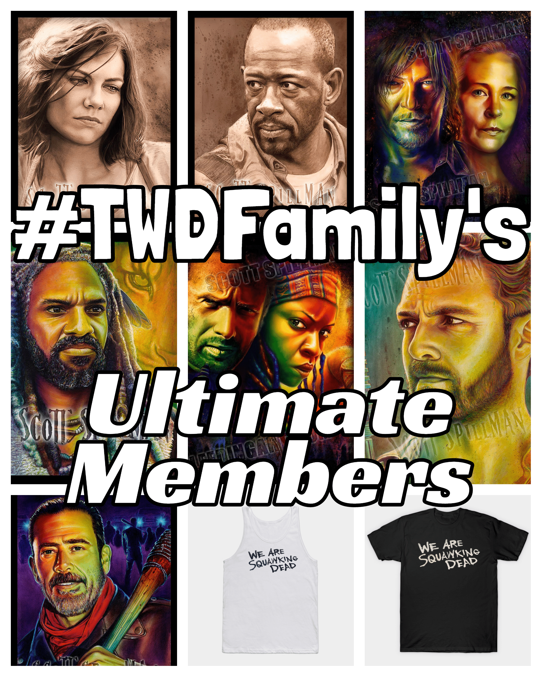 #TWDFamily's Ultimate Members Giveaway Image