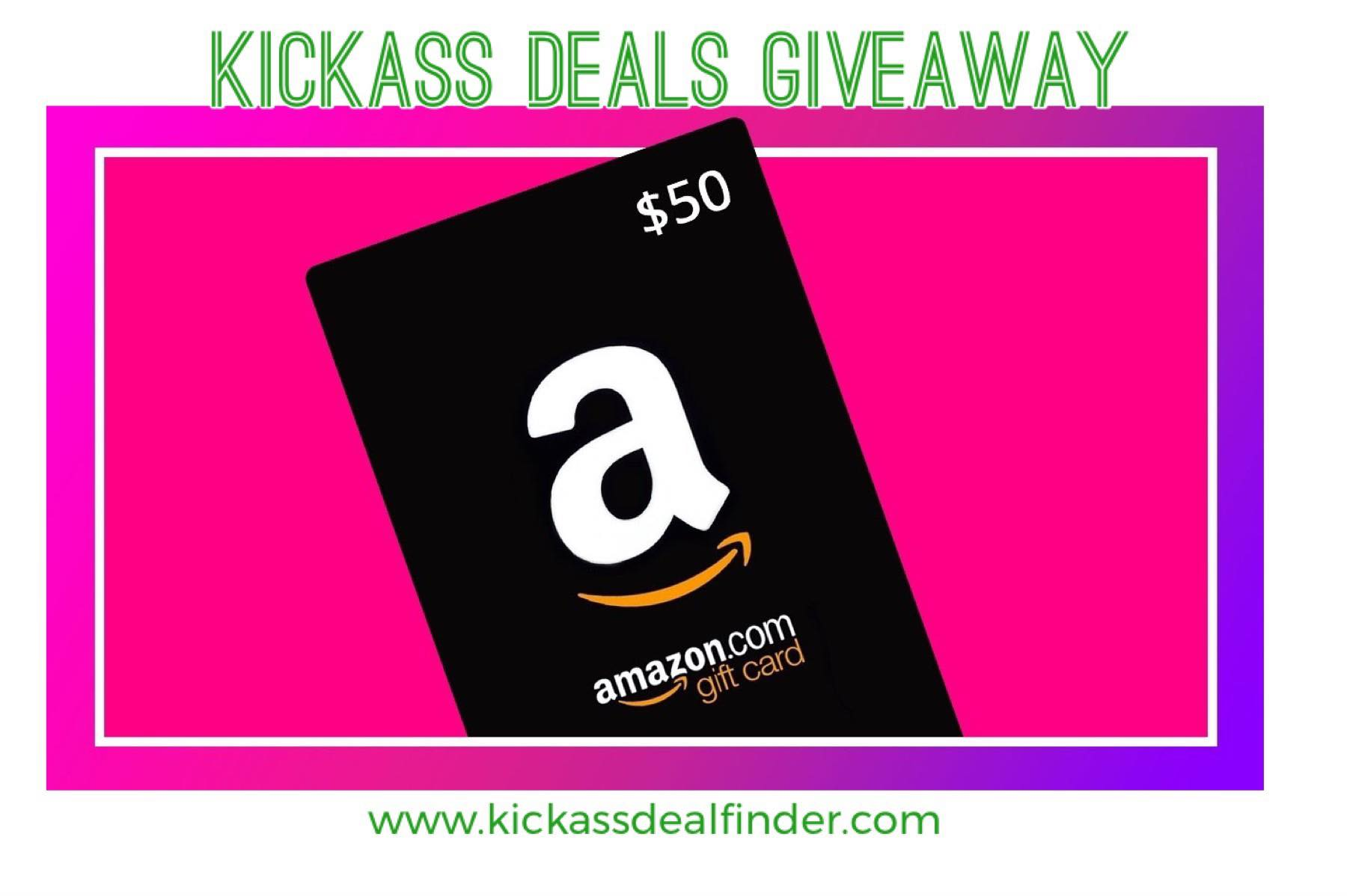 Cash $50 Amazon Giftcard Giveaway Image