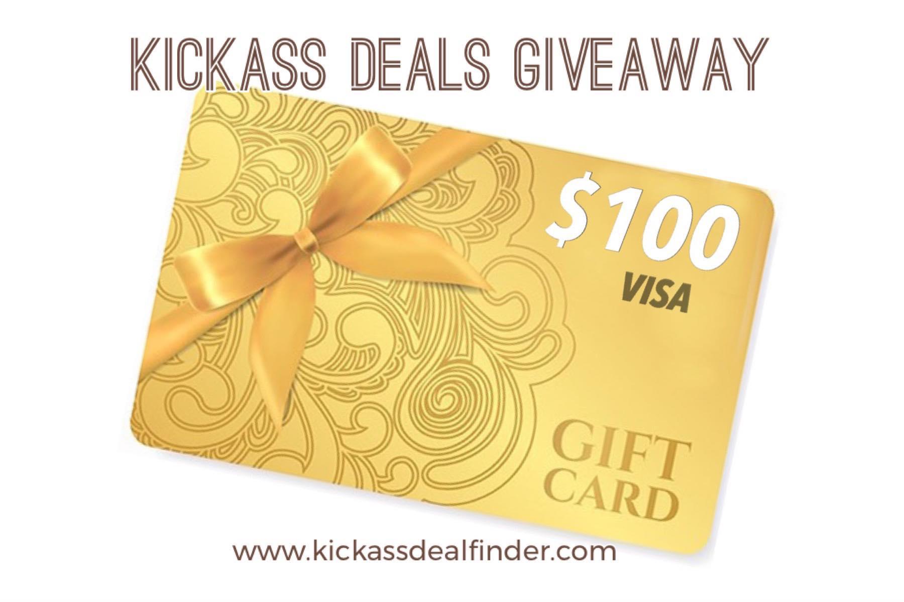 Win a $100 VISA Giftcard Giveaway Image