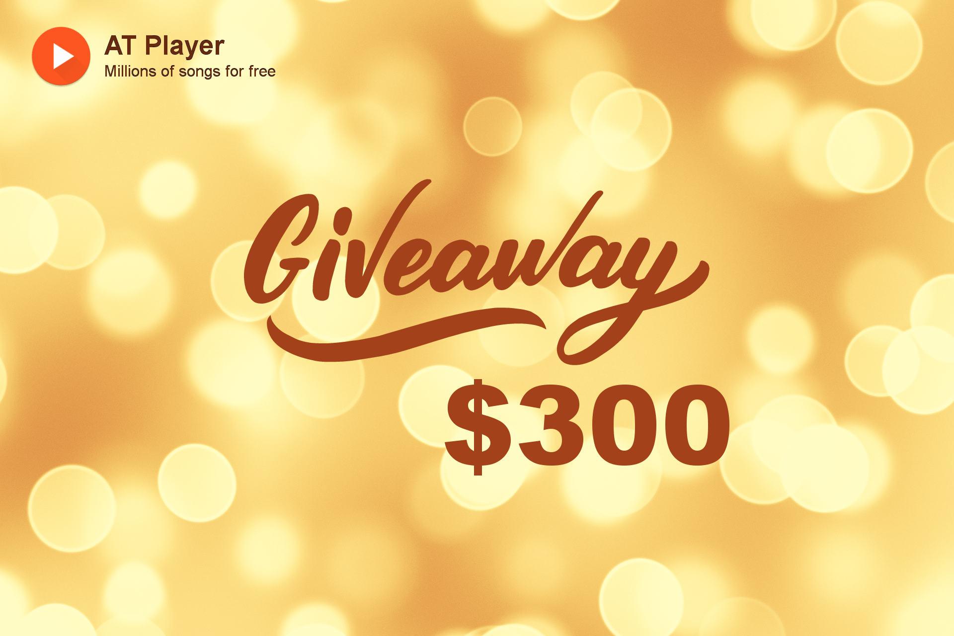 AT Player $300 giveaway ???? Giveaway Image