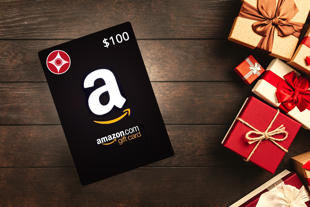 Win a $100 Amazon Gift Card Giveaway Image