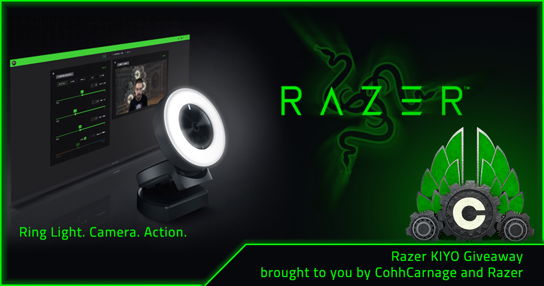 Win a Razer Kiyo Webcam Giveaway Image