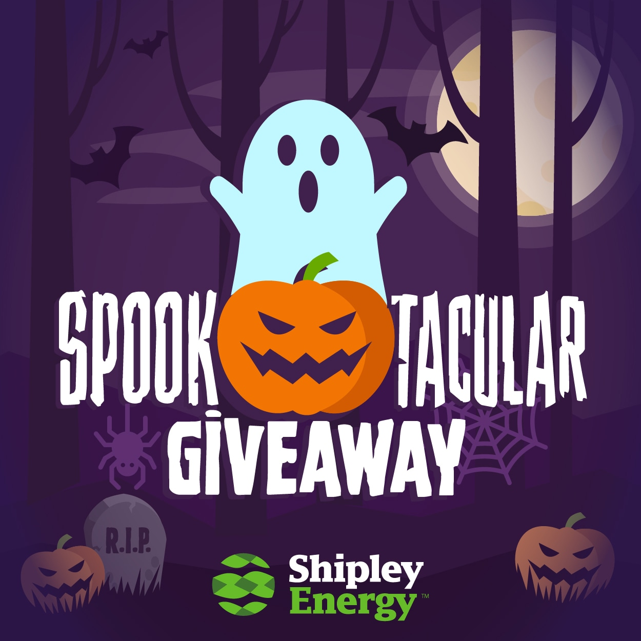 Spooktacular Giveaway from Shipley Energy - 10 Winners!  PA, MD and OH only Giveaway Image