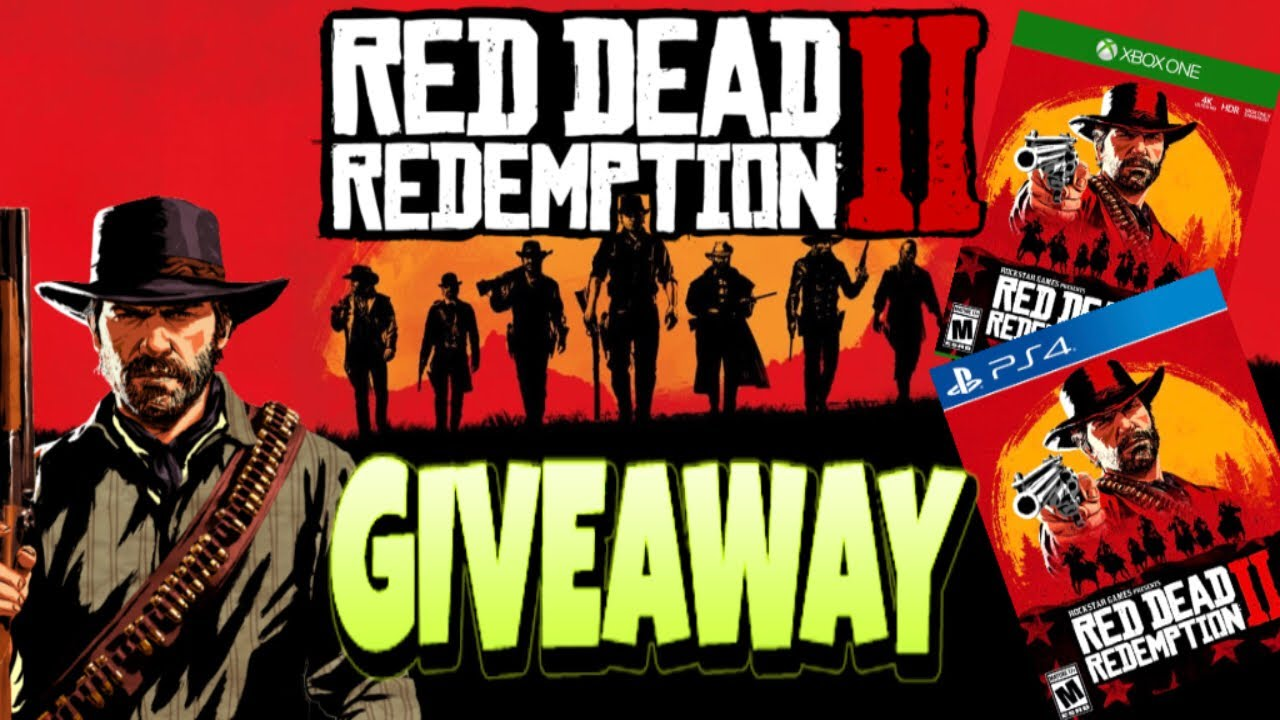 Enter for a chance to win Red Dead Redemption II for the platform of your choice! Giveaway Image