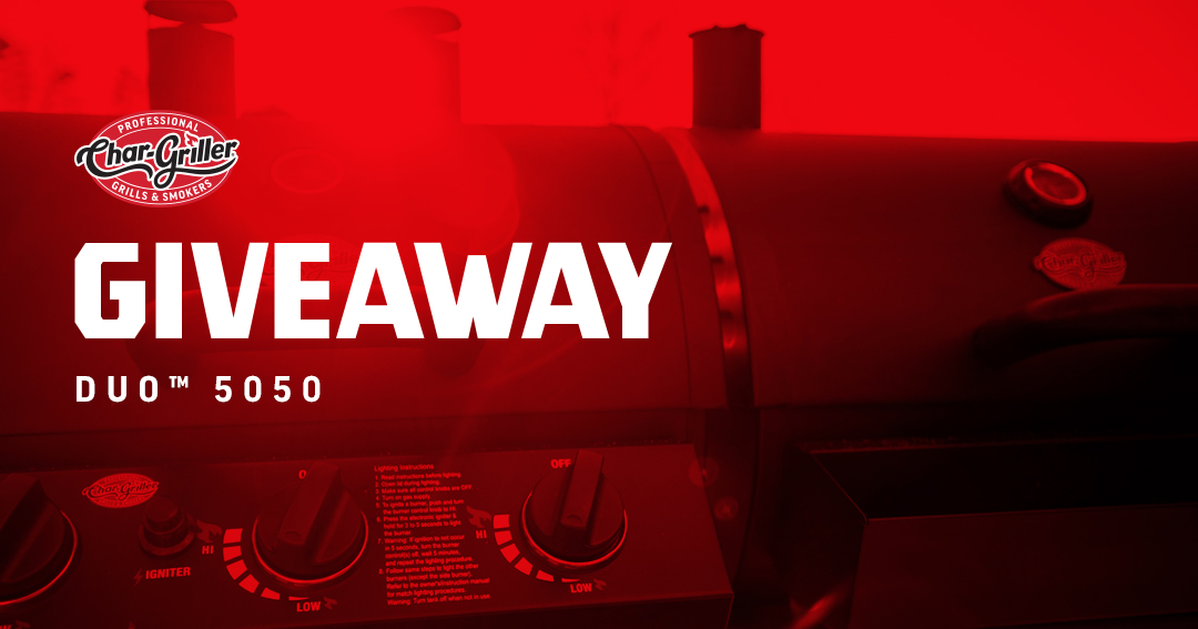 Char-Griller & Grill Mark Co. DUO 5050 Giveaway Giveaway Image