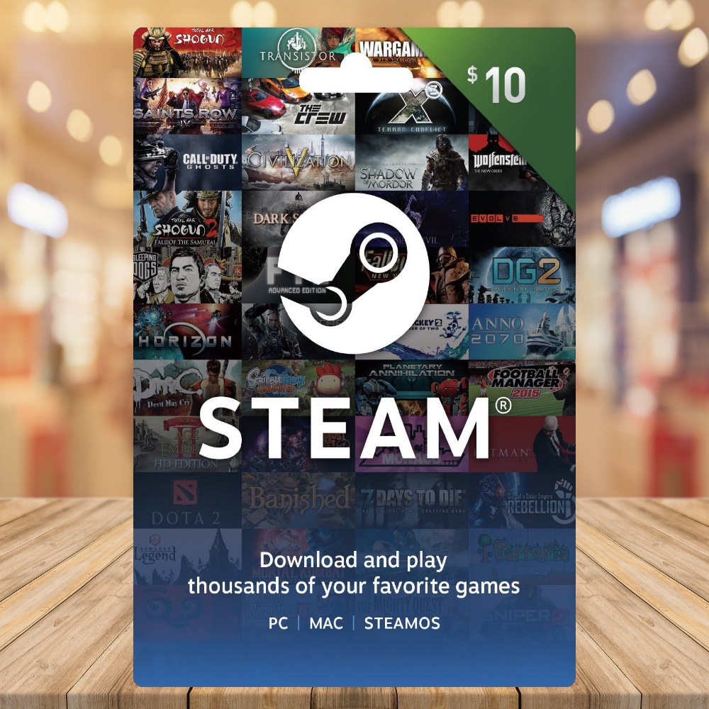 $10 Steam Gift Card Giveaway Giveaway Image
