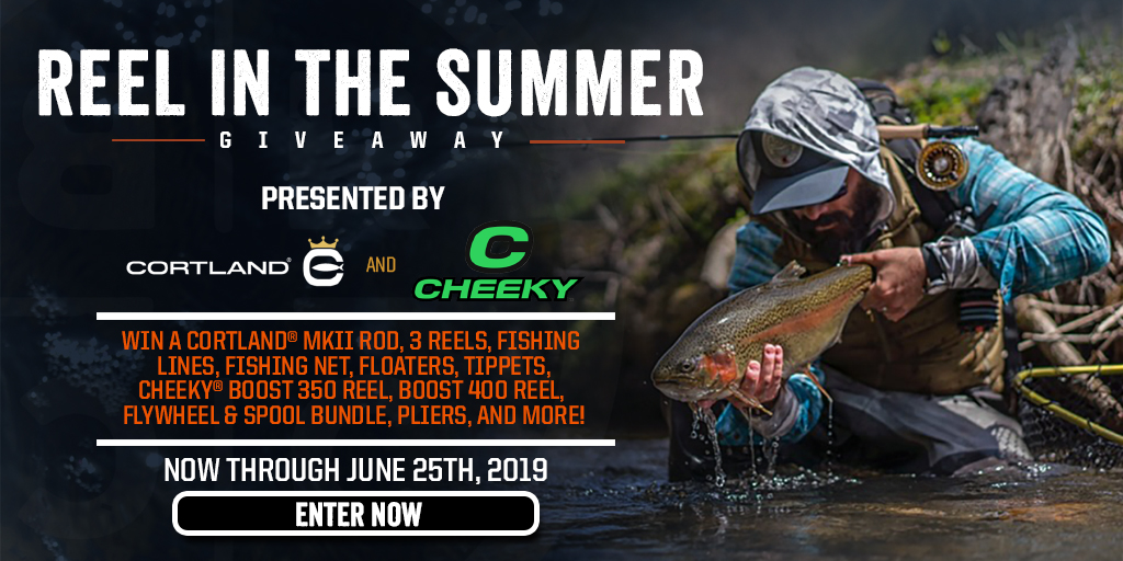 BRCC June Giveaway: Reel In the Summer - Win a Fishing Prize Pack Giveaway Image