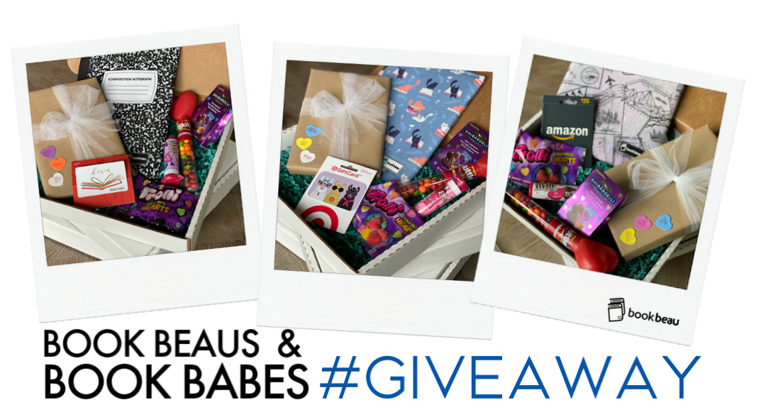 Enter to win a Book Beau Prize Pack consisting of an XL Book Beau, a signed book, a $25 gift card, and assorted goodies. 3 Winners!  Winners must be able to receive mail via USPS. Giveaway Image