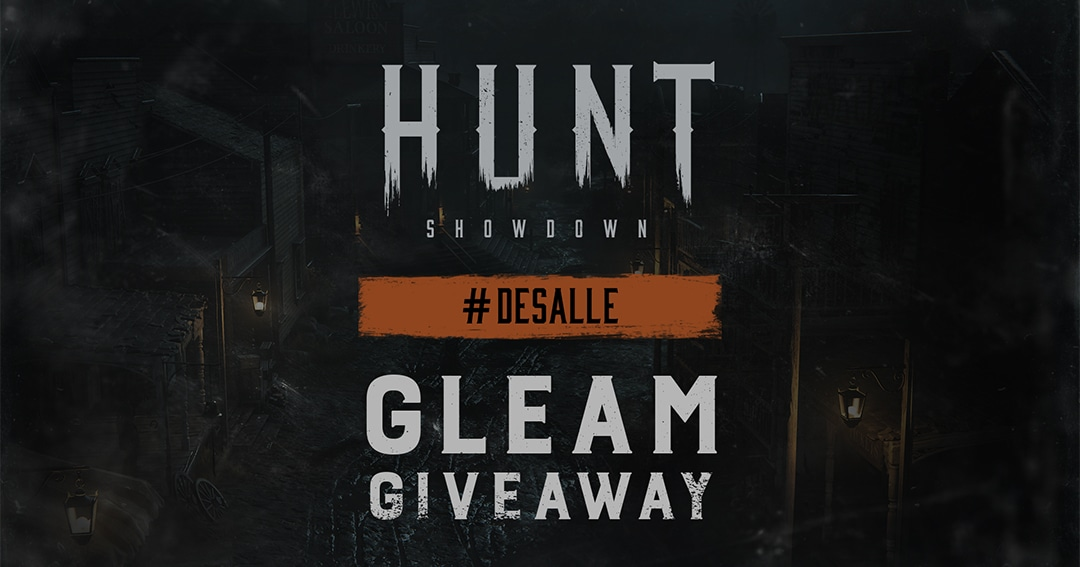 Enter to win a digital copy of Hunt for PC, PlayStation 4 or Xbox One, a digital copy of the Best Hunter for PC, PlayStation 4 or Xbox One, and an exclusive Hunt: Showdown merch. 38 Winners!  See the extensive list of eligible nations Giveaway Image