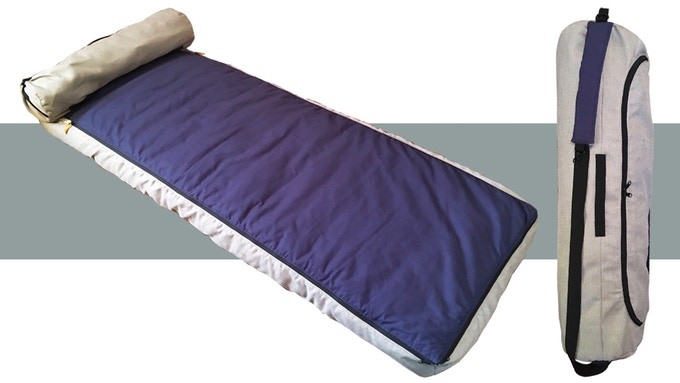Arv $289. The sleep roll up style IMX brand sleeping bag Giveaway Image