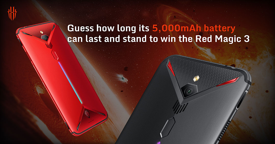 Red Magic 3 Smartphone (LAST 2 DAYS!!!) Giveaway Image