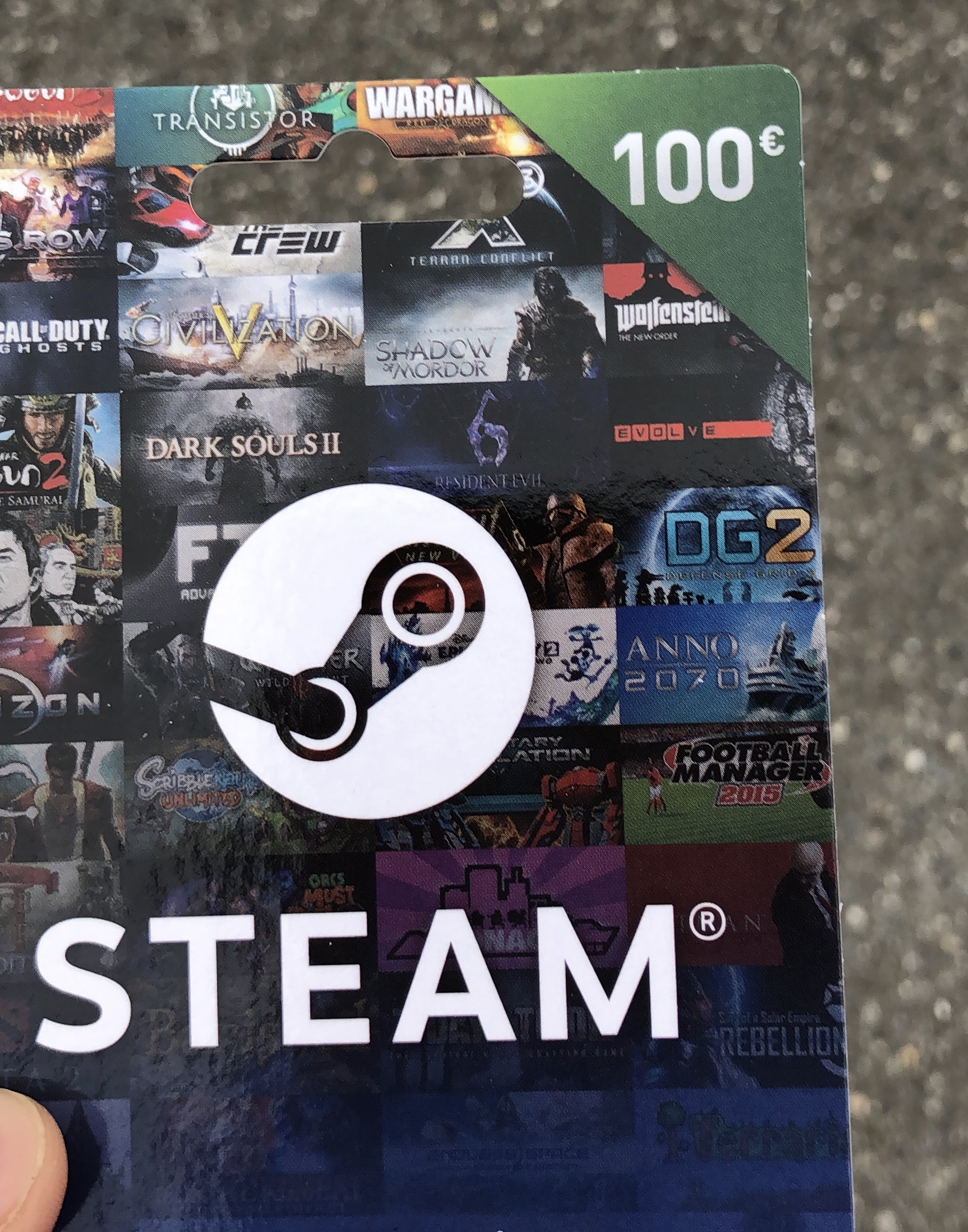 100� Steam Gift Card Giveaway Giveaway Image