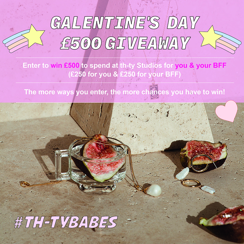 Galentine's Day £500 Giveaway Giveaway Image