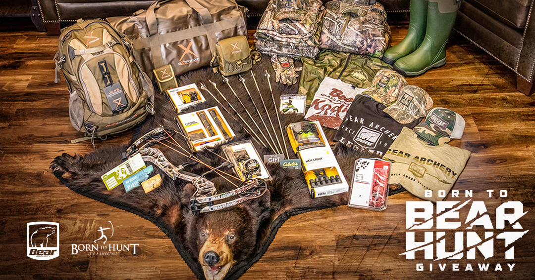 Archery Bear Hunt + Gear Giveaway ($5,404 VALUE) Giveaway Image